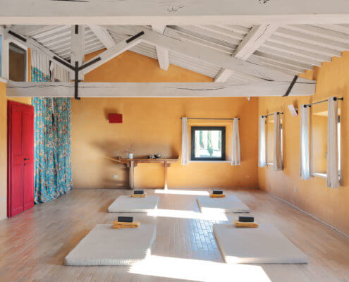 Yoga Room Tuscany